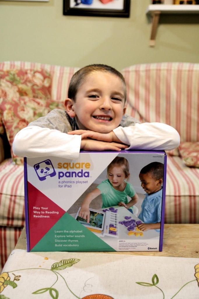 Child with Square Panda