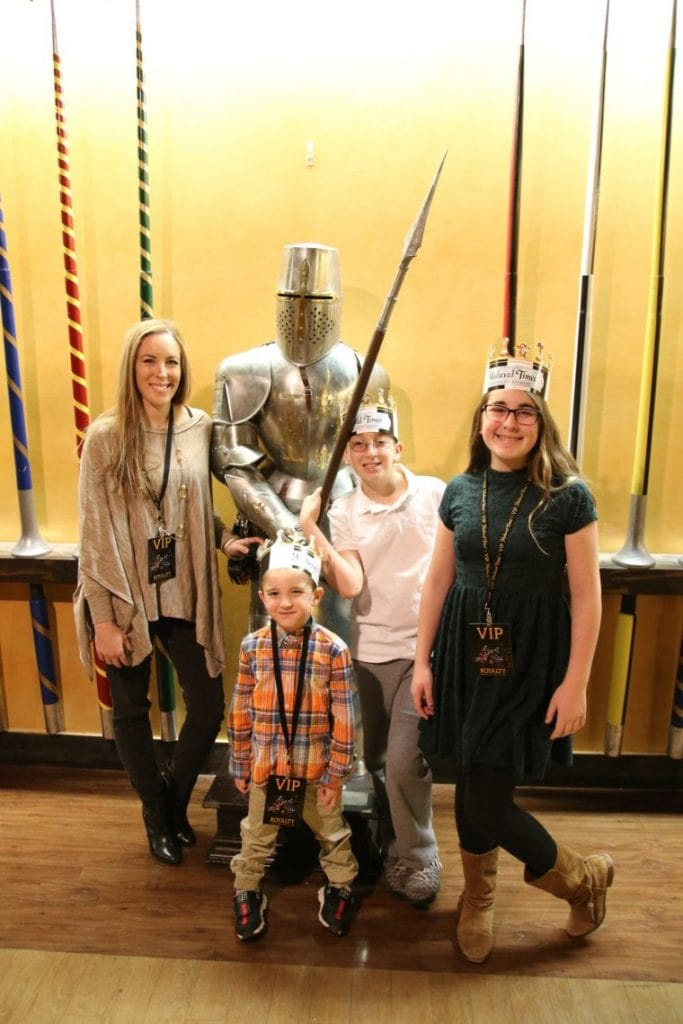 Medieval Times Dinner And Tournament family photo
