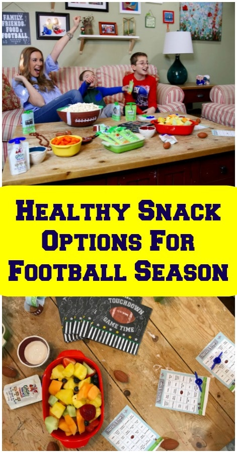 Healthy Snack Options For Football Sunday