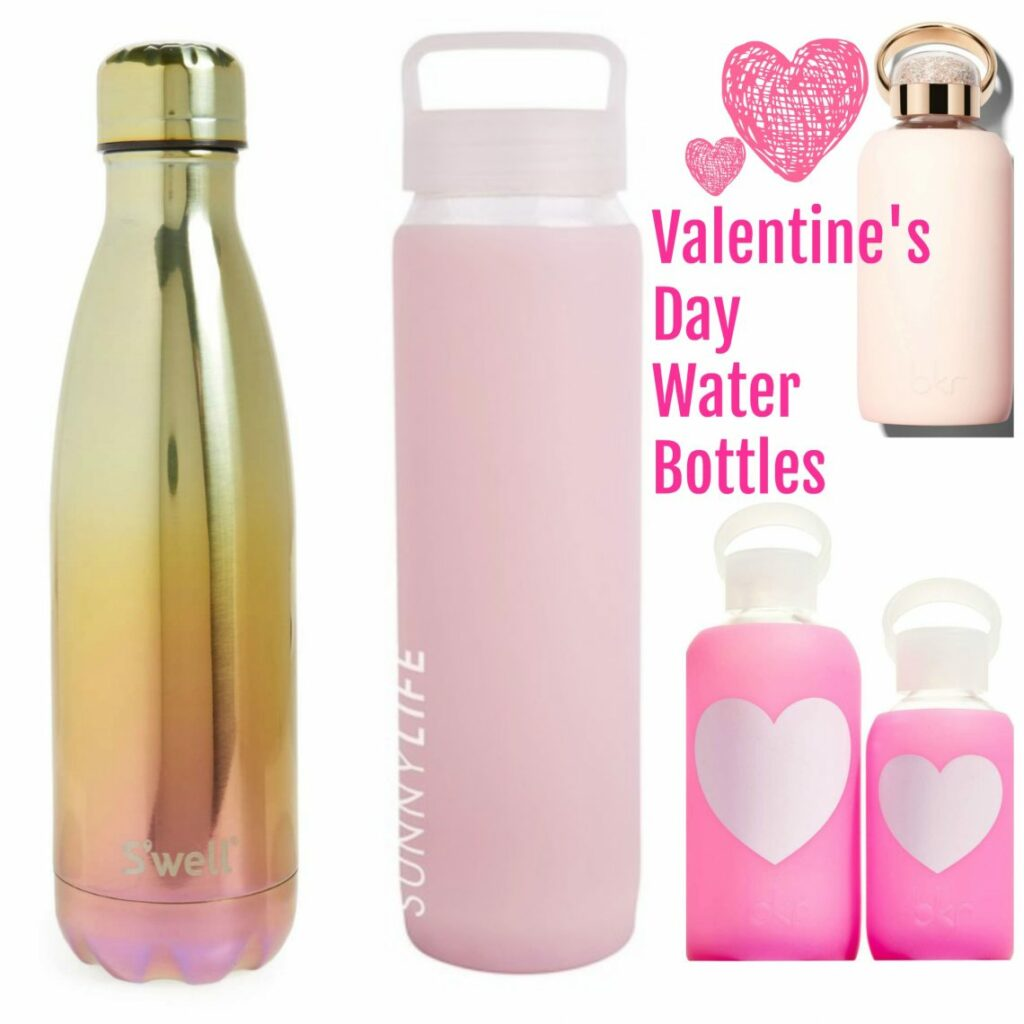 Valentine's Day Water Bottles