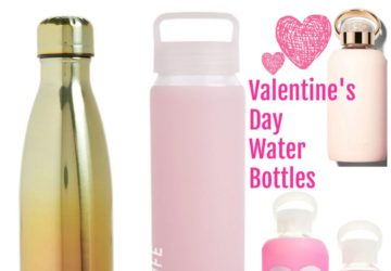 Fun Valentine's Day Themed Water Bottles: Today's Obsession