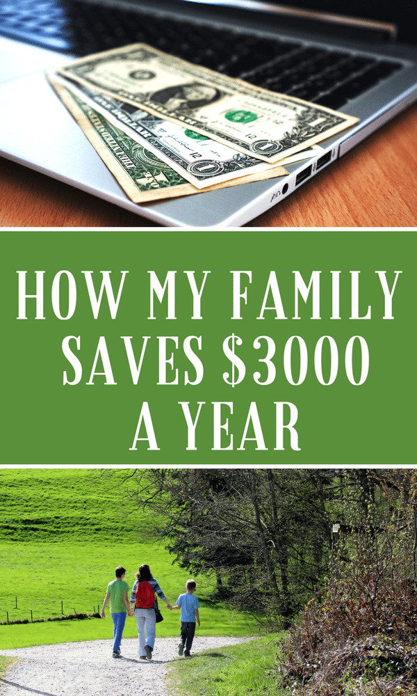 Money Saving Tips: How We Save $3000 A Year