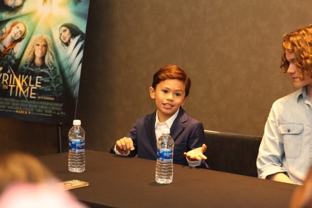 Levi Miller and Deric McCabe