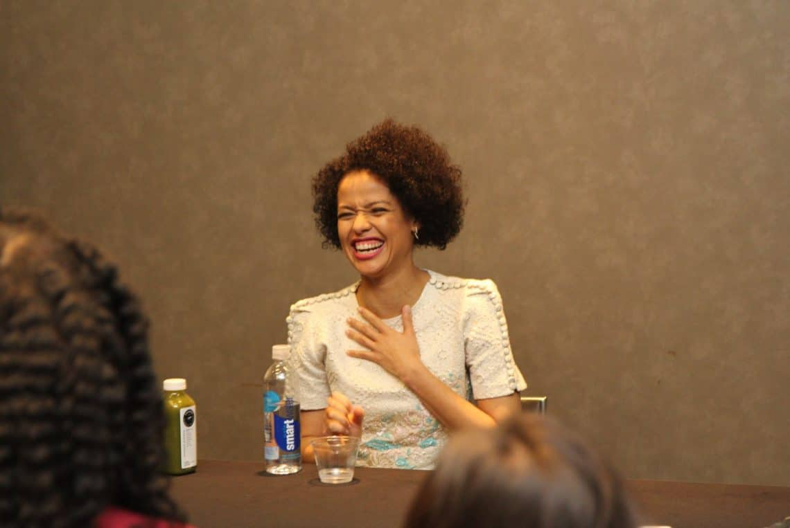 Gugu Mbatha-Raw Has A Message For Fans Of Wrinkle In Time #WrinkleInTime #WrinkleInTimeEvent