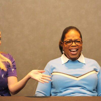 Meeting Oprah Winfrey, Reese Witherspoon And Mindy Kaling #WrinkleInTimeEvent