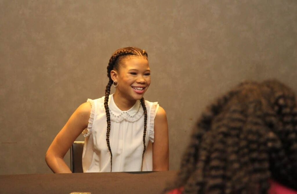 Storm Reid interview LA Wrinkle In Time