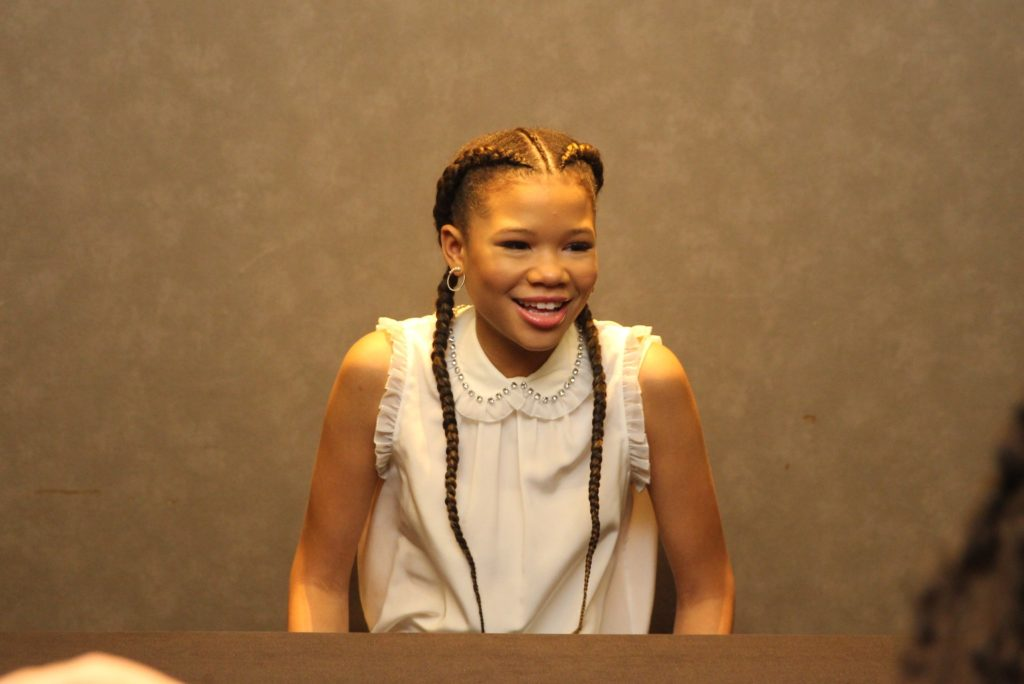 Storm Reid Interview: Meeting Meg Murry From A Wrinkle In Time