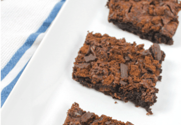 Thin Mint Brownies Recipe (Easy To Make - NOT From Scratch)