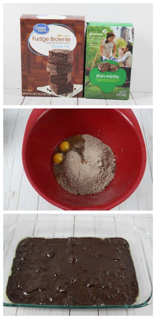 Thin Mint Brownies Recipe