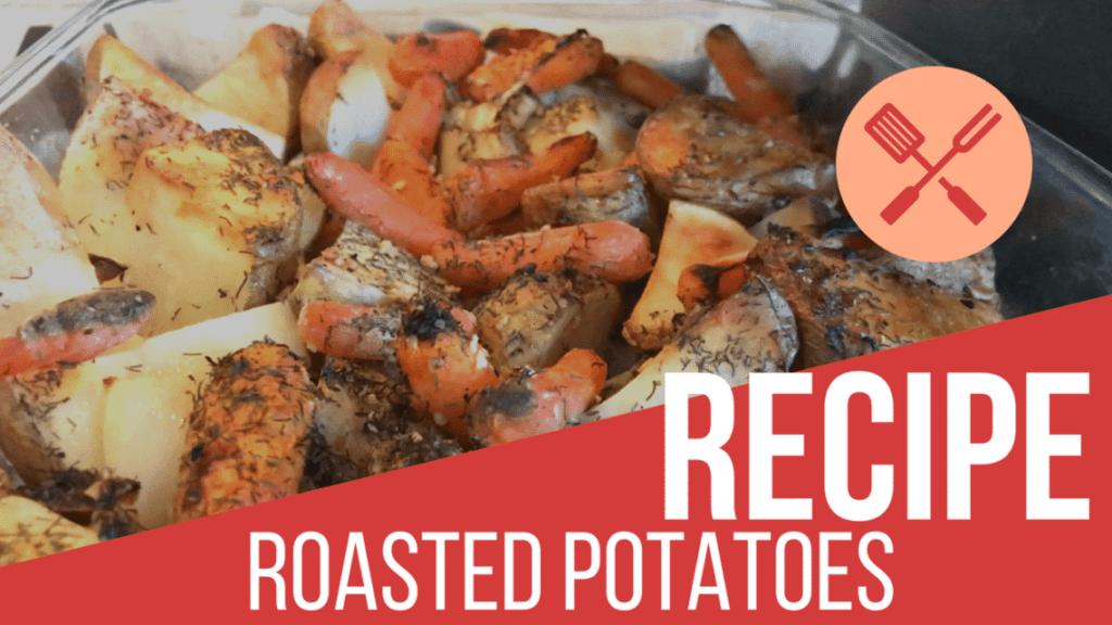 rustic roasted potatoes recipe