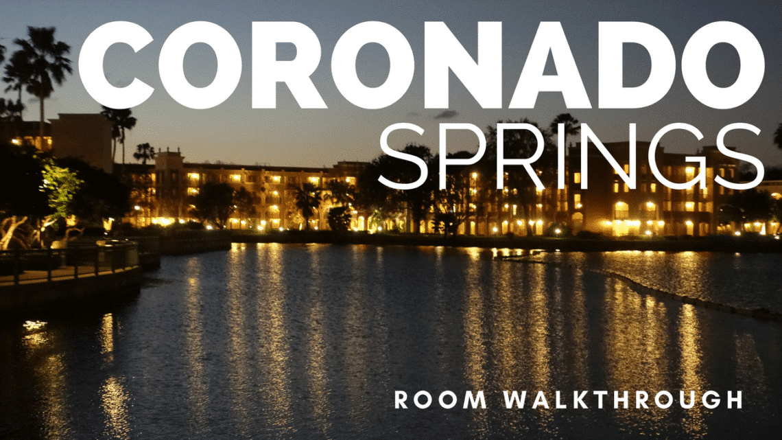 Coronado Springs Room Tour
