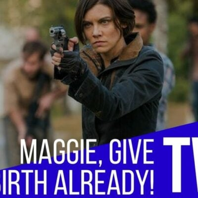 Maggie On The Walking Dead: Where Is Your Pregnant Belly?