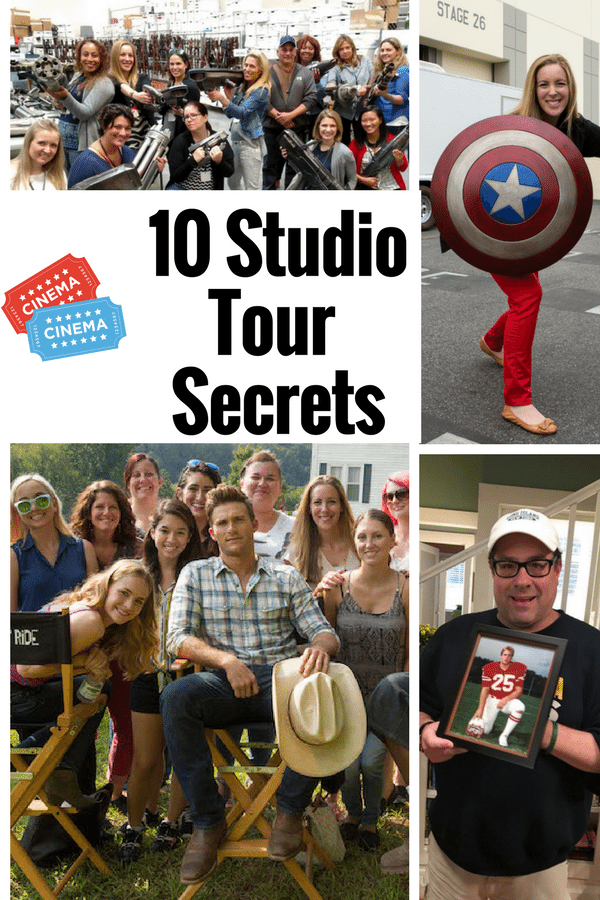 Studio Tour Secrets