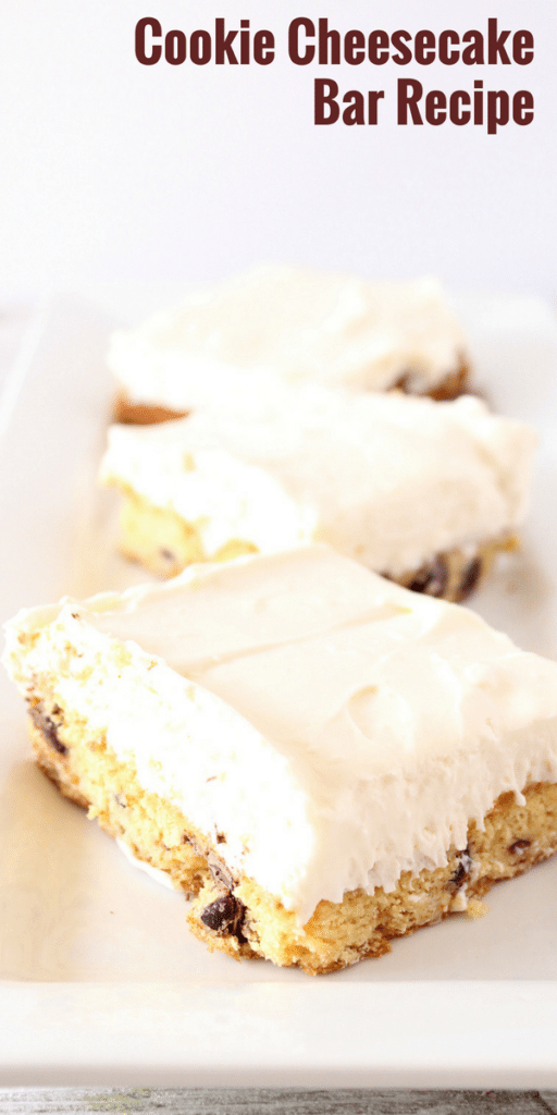 Cookie Cheesecake Bars Recipe