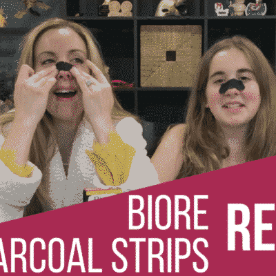 Biore Charcoal Pore Strips: Blackhead Removal From Nose Beauty Review