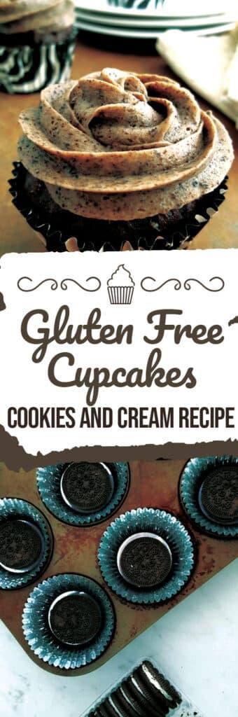 Gluten Free Cupcake Recipes - Cookies and Cream