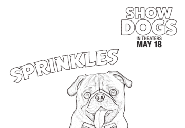 Show Dogs Movie: Free Coloring Sheets