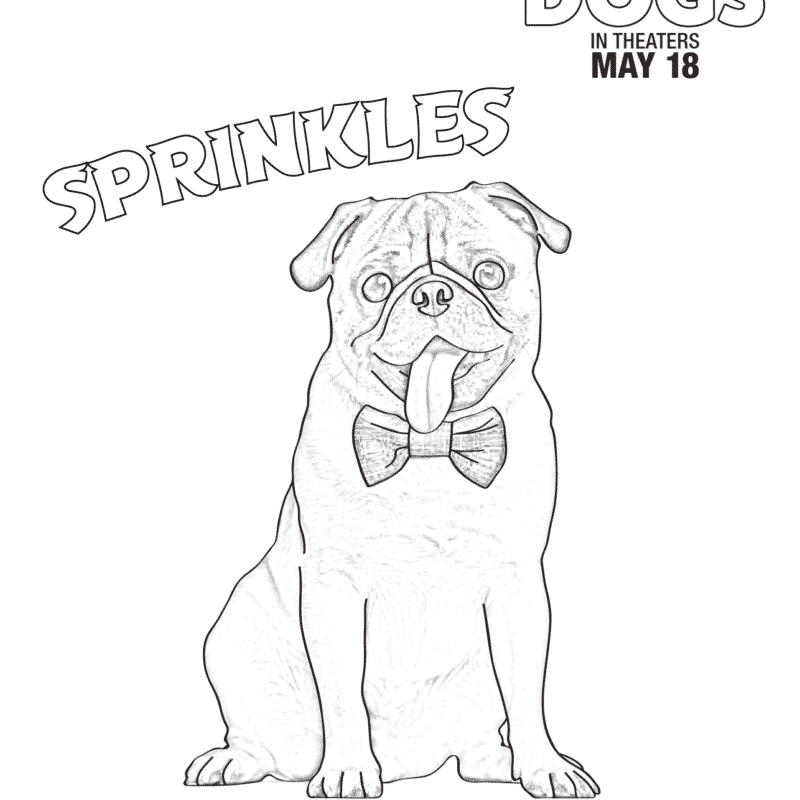 Dog Coloring Pages Show Dogs Movierhladyandtheblog: Show Dogs Coloring Pages At Baymontmadison.com