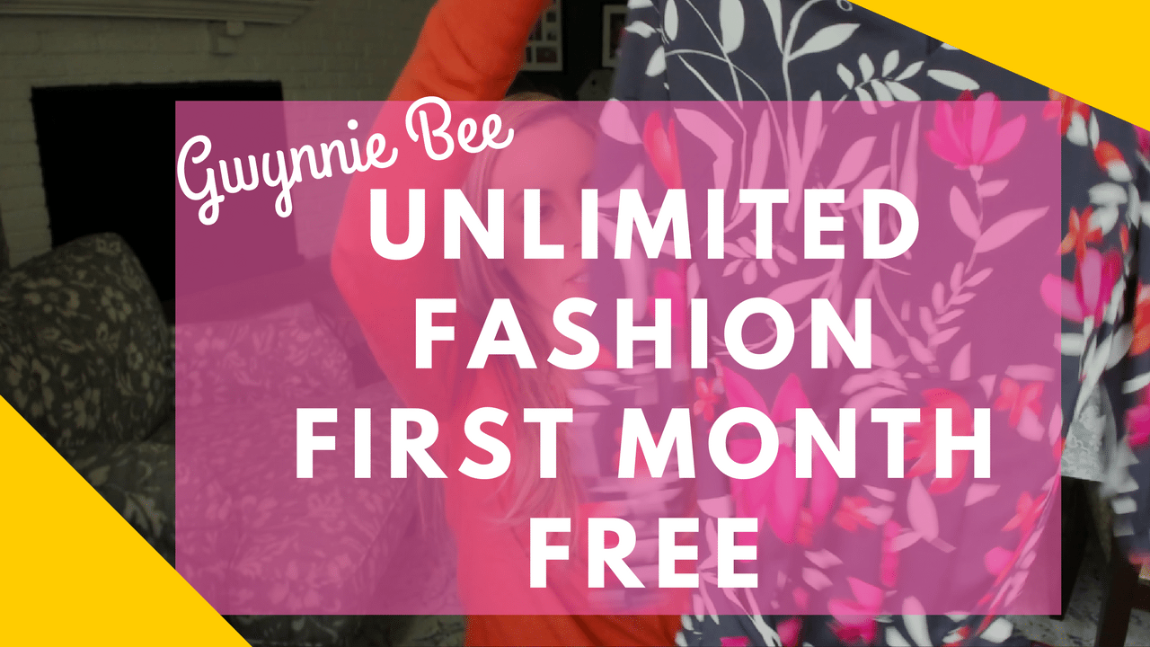 Gwynnie Bee Clothing Subscription Box: Your First Month Free