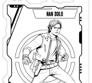 Solo: A Star Wars Story - Free Coloring Pages #HanSolo
