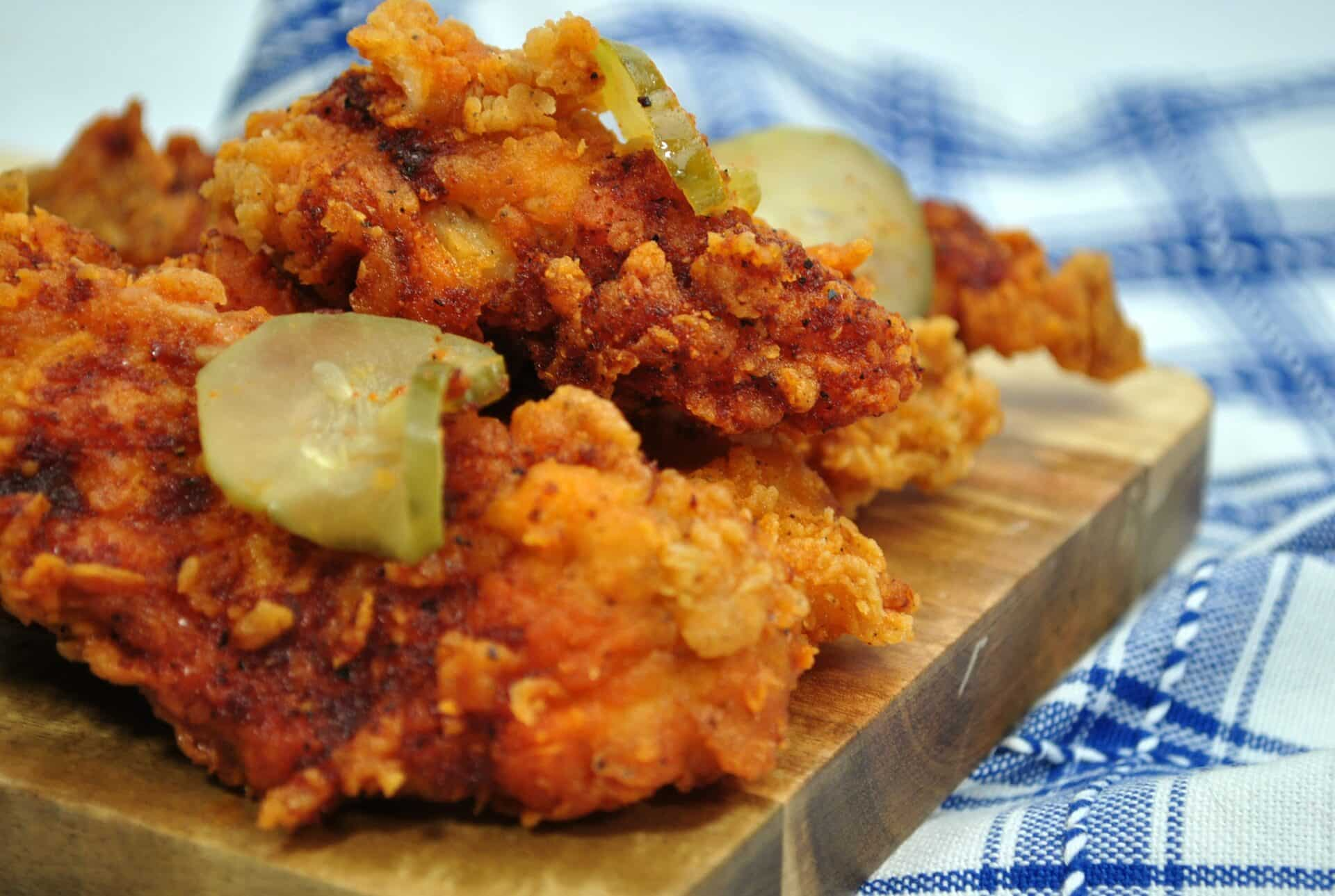 Air Fryer Fried Chicken Recipe Crispy Nashville Style