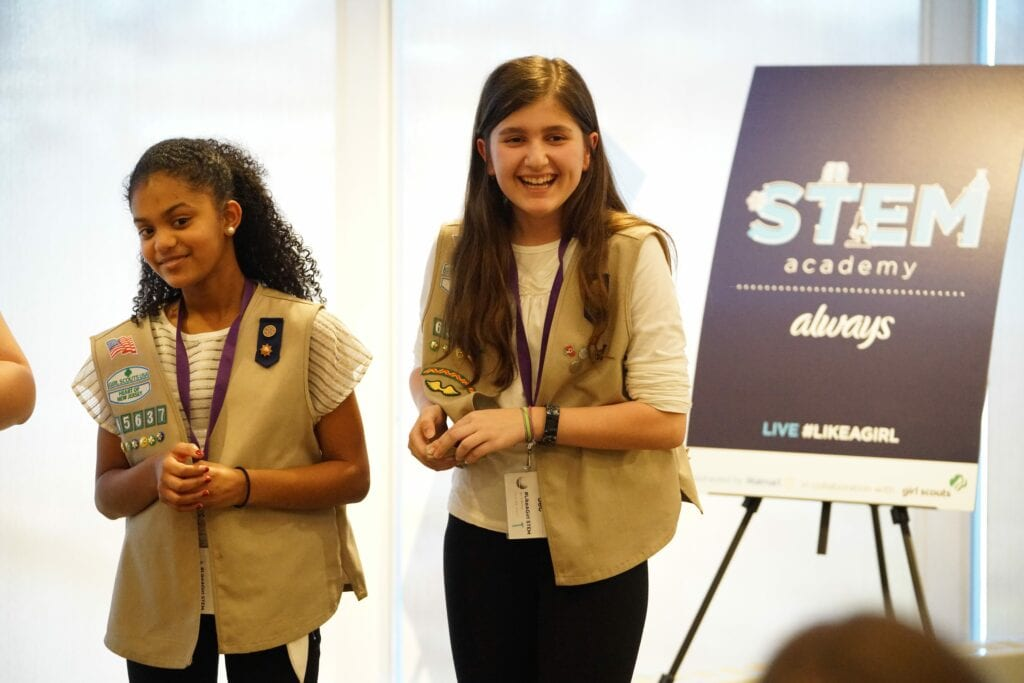 Encouraging Girls To Stick With STEM And Rid Themselves Of The Fear Of Failure #LikeAGirl