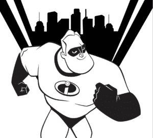 Incredibles 2 Coloring Pages And Activity Sheets - Free Downloads