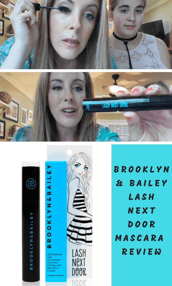Brooklyn And Bailey Lash Next Door Mascara Review #LashNextDoor