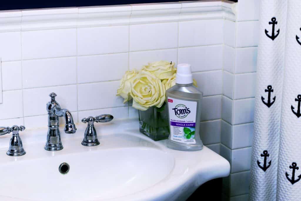 Tom's of Maine Whole Care Fluoride Mouthwash