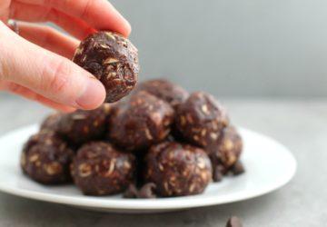 Chocolate Cookie Energy Bites Recipe