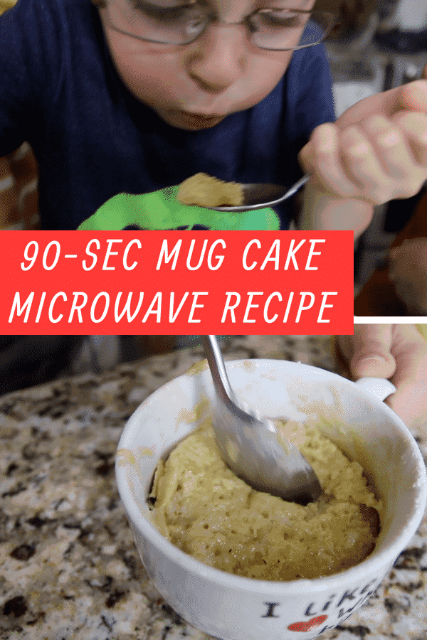 How To Make A Mug Cake In The Microwave