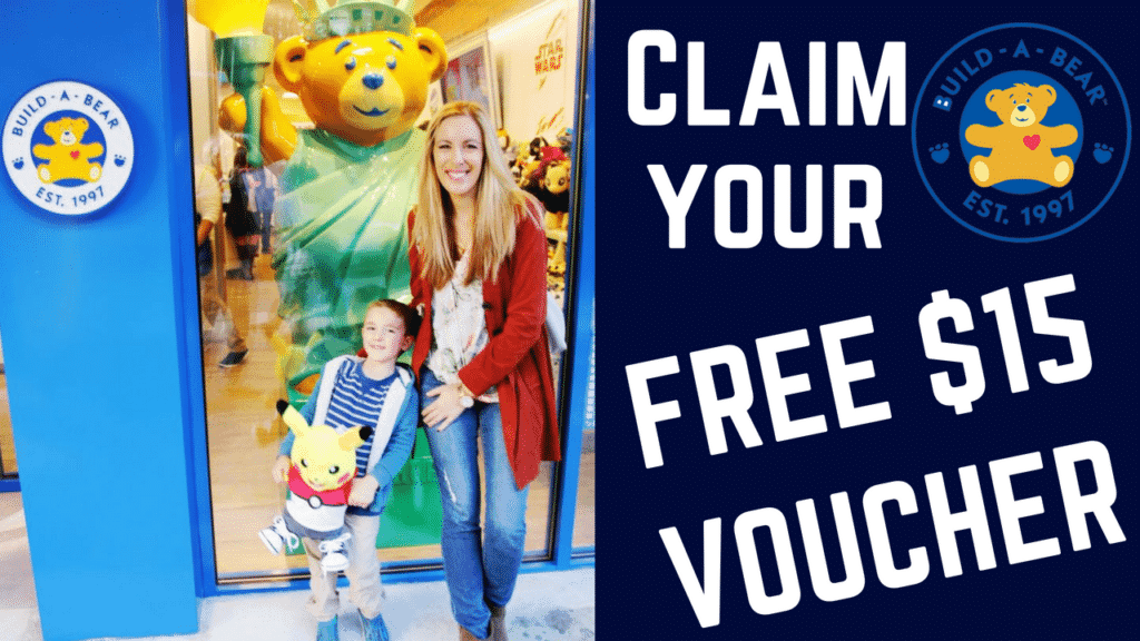 How To Claim Your Free Build A Bear Workshop $15 Voucher - Build A Bear Coupons