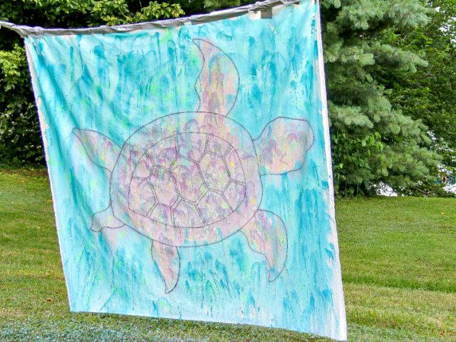 backyard art for kids