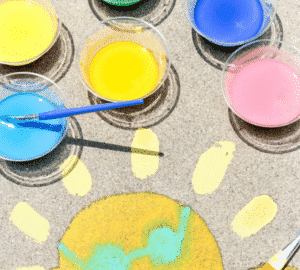 How To Make DIY Sidewalk Chalk Paint