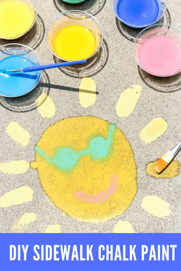 How To Make Diy Sidewalk Chalk Paint - Lady And The Blog-4597