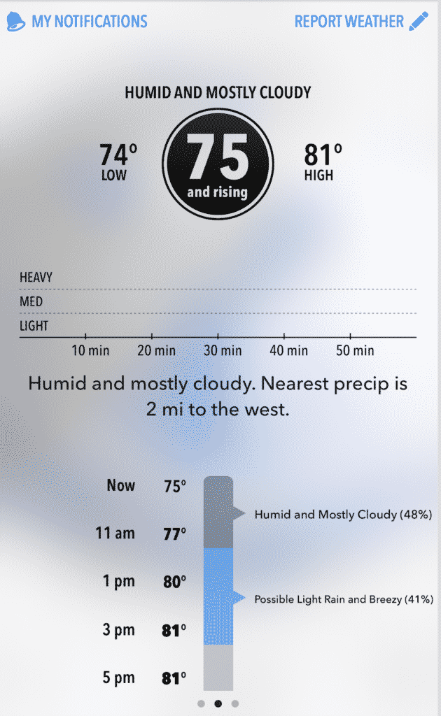 Dark Skies Weather App Is Literally The Work Of The Devil And I Love It