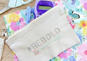 How To Personalize A Pencil Case For Back To School: Easy DIY Project