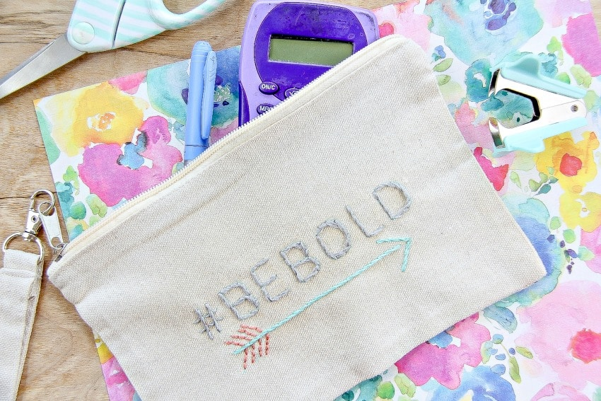 How To Make A Personalized Pencil Case For Back To School: Easy DIY Project