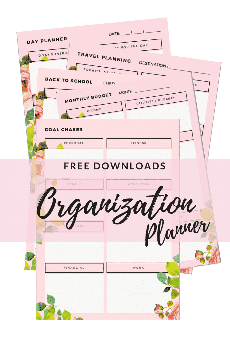 Free Organizational Planner
