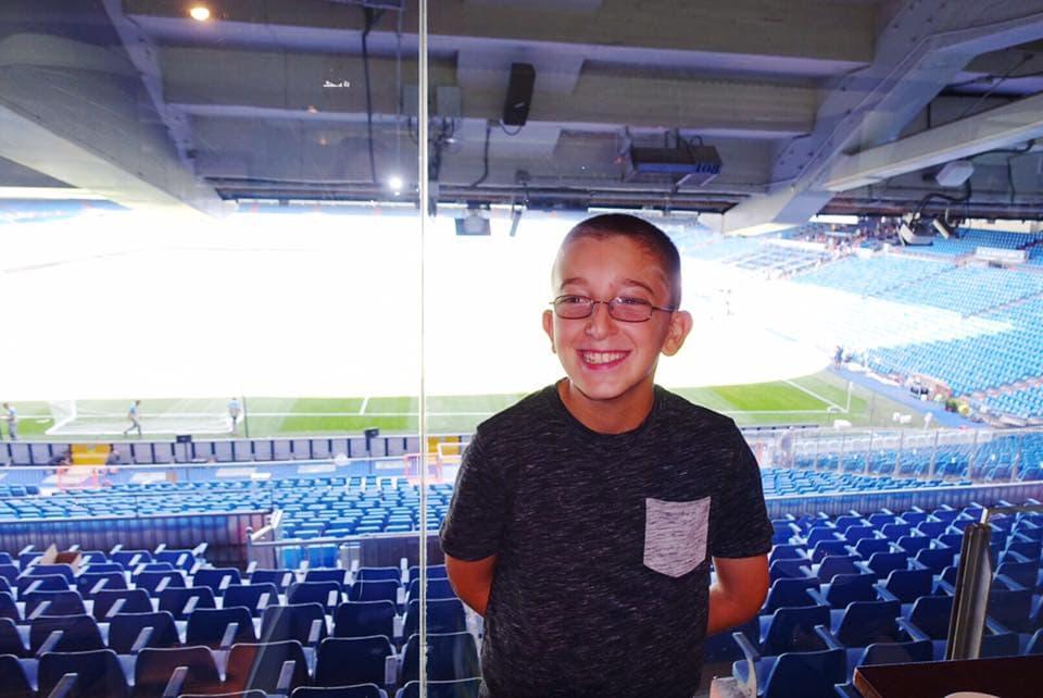 Madrid Soccer Stadium Spain