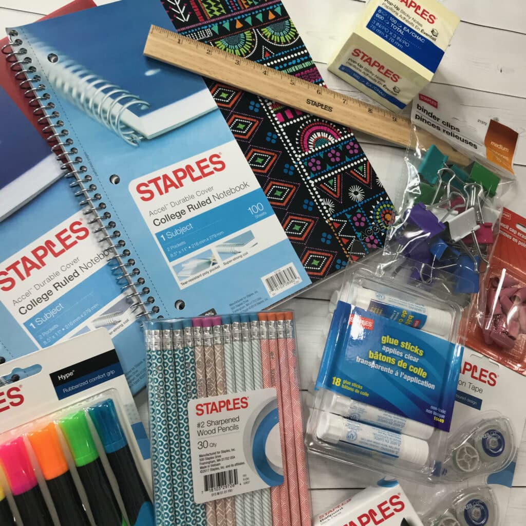 Get Ready This Back To School Season With Staples #BackToSchoolSpecialists