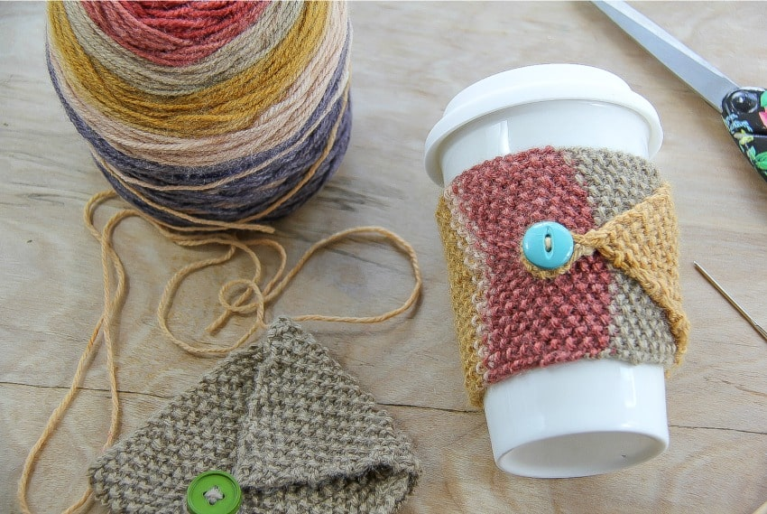 Fall Knit Cozy Project: Free Knitting Pattern