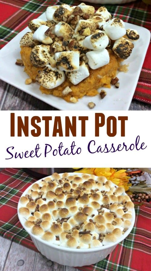 Instant Pot Sweet Potato Casserole Recipe