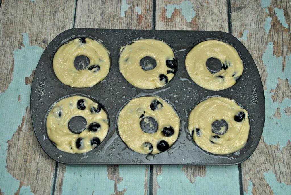 Blueberry Lemon DonutsRecipe