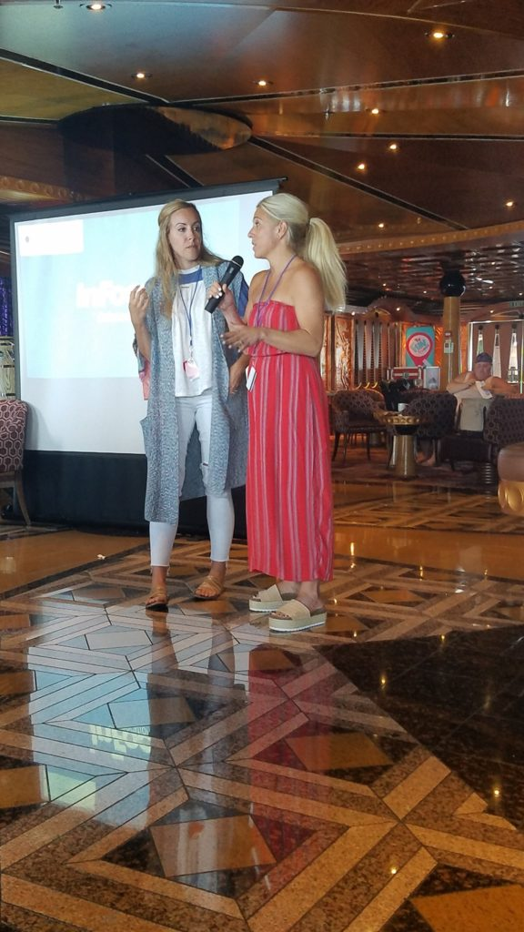 vera sweeney audrey mccelelland carnival cruise permission to hustle retreat 2018