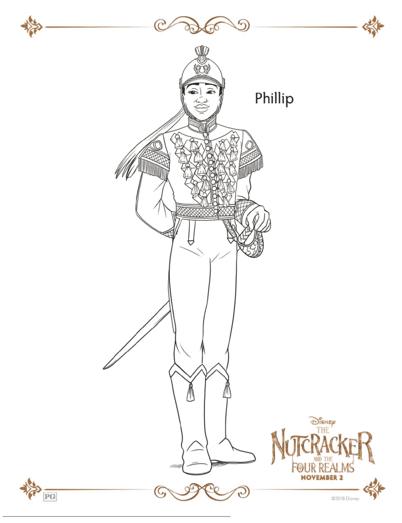 The Nutcracker And The Four Realms Free Coloring Pages ...