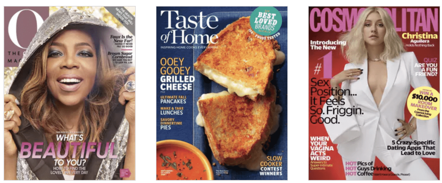 Weekend Magazine Sale - 4 Magazines For $16