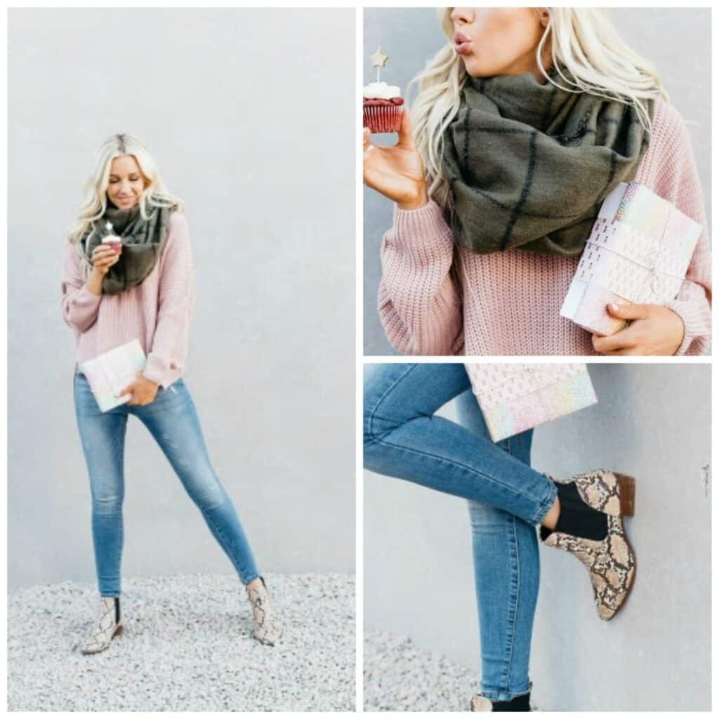 Shoe and Scarf combo