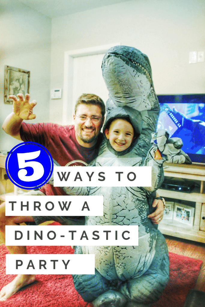 5 ways to throw a dinosaur themed party