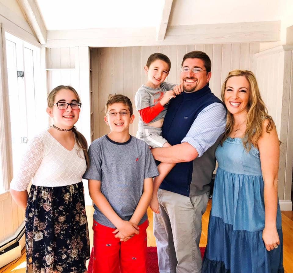 vera sweeney family photo